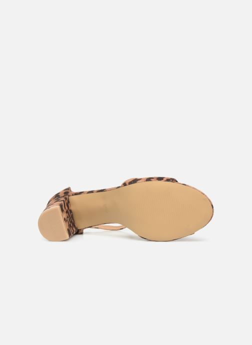 Sandalias I Love Shoes THITAN Marrón vista de arriba