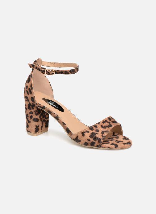 Sandales et nu-pieds I Love Shoes THITAN Marron vue détail/paire