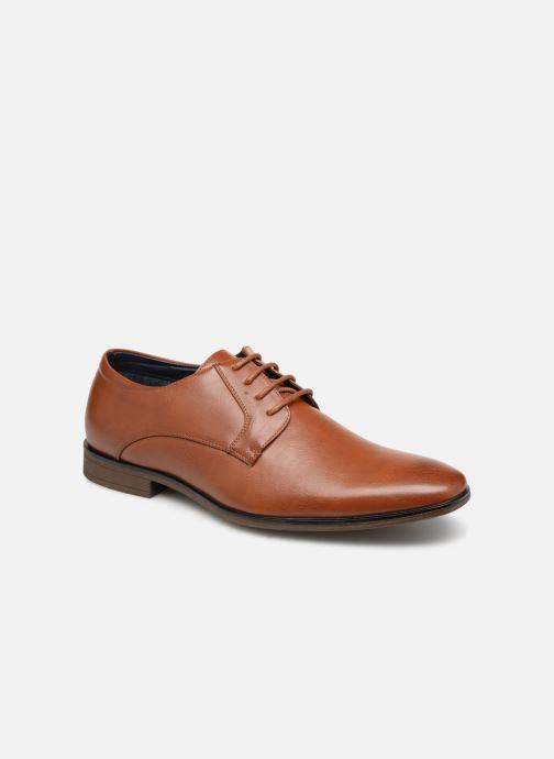 Chaussures à lacets I Love Shoes THARMAC Marron vue détail/paire