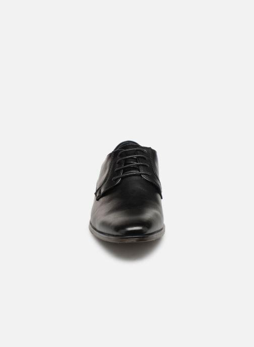 Zapatos con cordones I Love Shoes THARMAC Negro vista del modelo