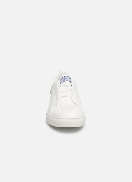 Baskets I Love Shoes THAXIWAY Blanc vue portées chaussures