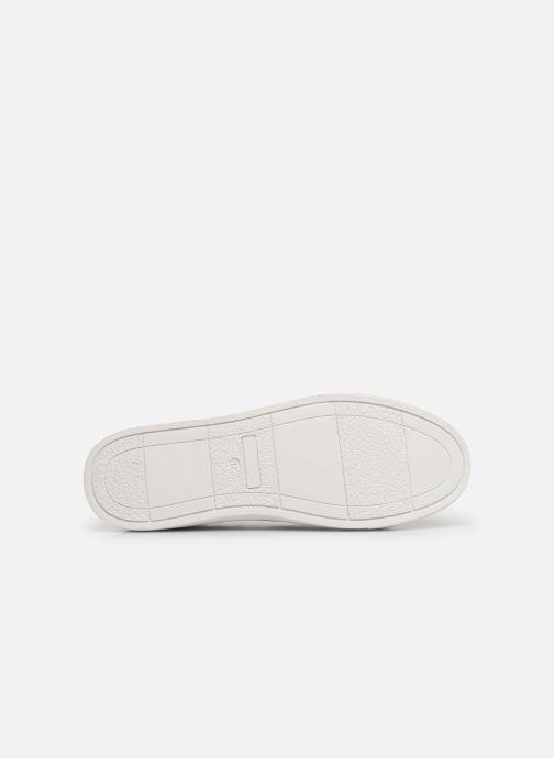 Baskets I Love Shoes THAXIWAY Blanc vue haut