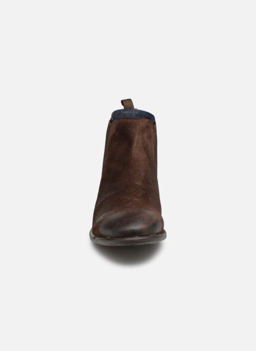 Boots en enkellaarsjes I Love Shoes THEROZENE LEATHER Bruin model