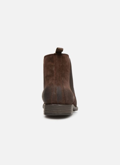 Ankle boots I Love Shoes THEROZENE LEATHER Brown view from the right