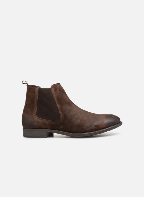 Ankle boots I Love Shoes THEROZENE LEATHER Brown back view
