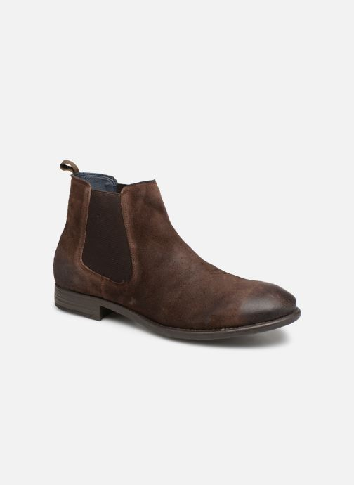 Bottines et boots I Love Shoes THEROZENE LEATHER Marron vue détail/paire