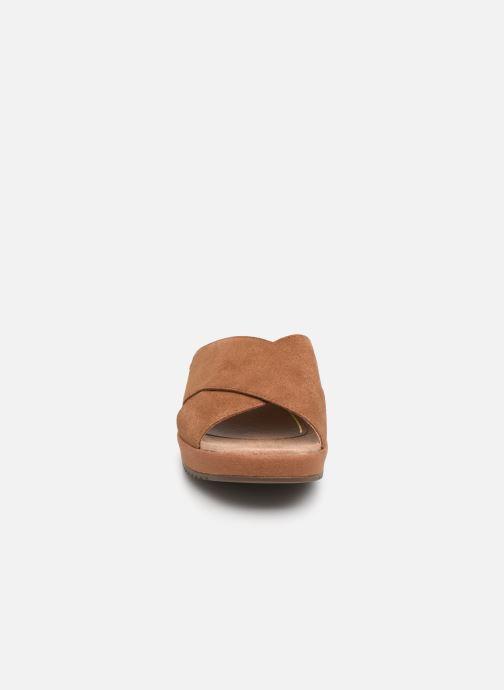 Mules et sabots Vionic Tropic Hayden Marron vue portées chaussures