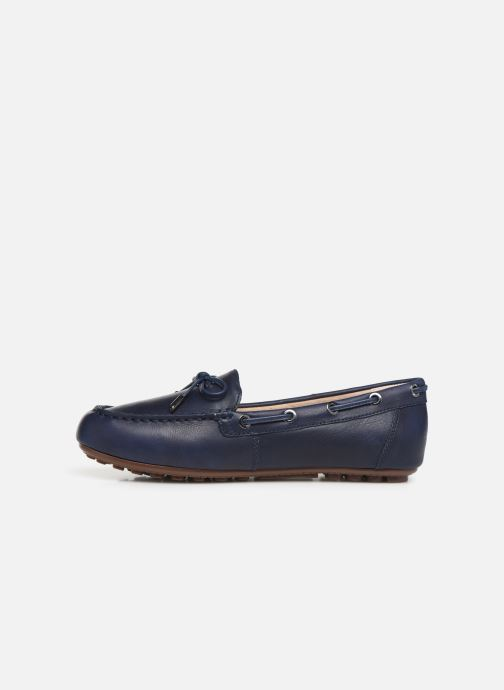 Mocassins Vionic Honor Virginia L Bleu vue face
