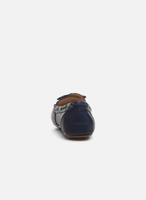 Mocassins Vionic Honor Virginia L Bleu vue droite