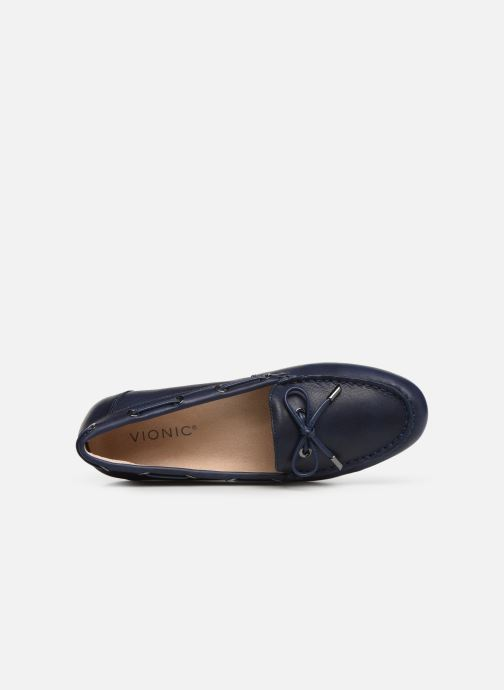 Mocassins Vionic Honor Virginia L Bleu vue gauche
