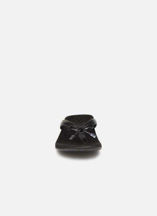 Tongs Vionic Rest Bella II Noir vue portées chaussures