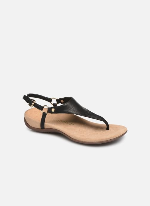 Sandals Vionic Rest Kirra Black detailed view/ Pair view