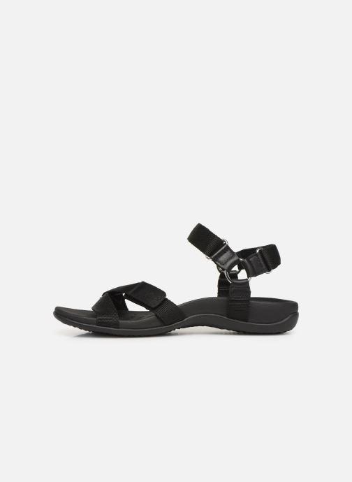 Sandales et nu-pieds Vionic Rest Cadace Noir vue face