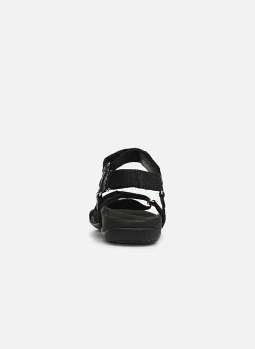 Sandales et nu-pieds Vionic Rest Cadace Noir vue droite