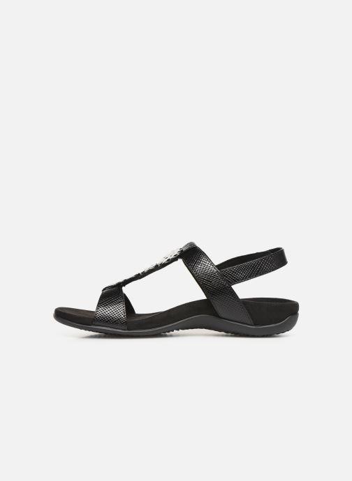 Sandales et nu-pieds Vionic Rest Farra Lizard Noir vue face