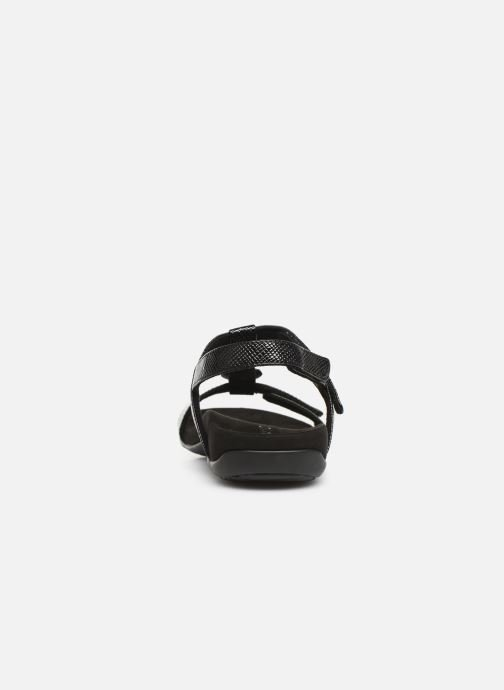 Sandals Vionic Rest Farra Lizard Black view from the right