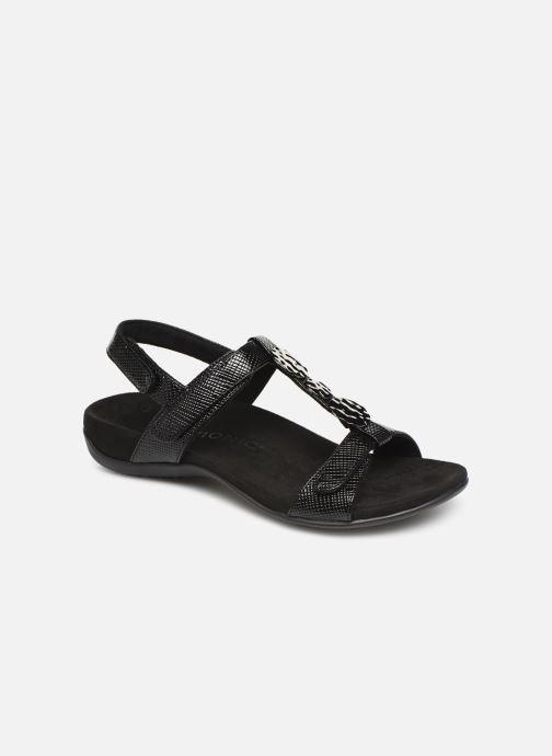 Sandales et nu-pieds Vionic Rest Farra Lizard Noir vue détail/paire