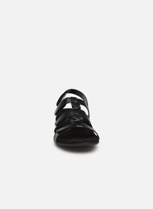 Sandales et nu-pieds Vionic Rest Amber Noir vue portées chaussures