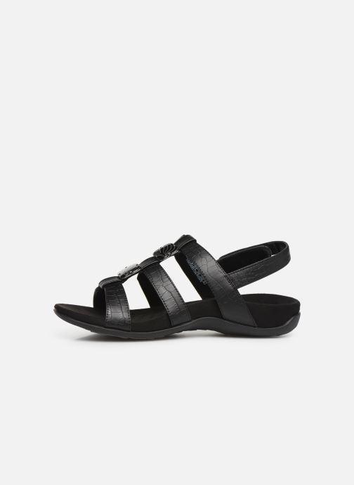 Sandales et nu-pieds Vionic Rest Amber Noir vue face