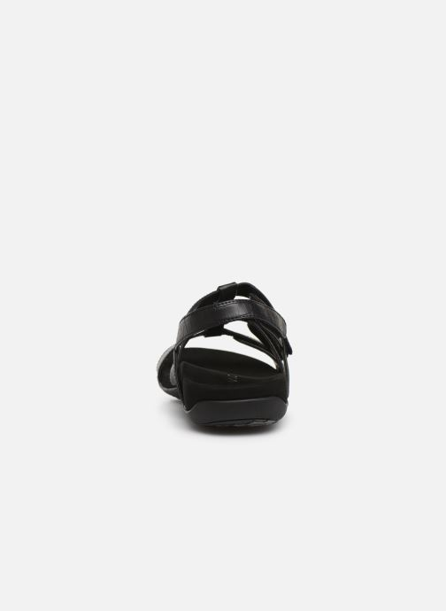 Sandales et nu-pieds Vionic Rest Amber Noir vue droite