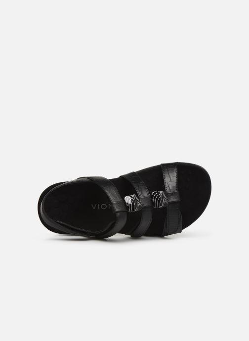 Sandales et nu-pieds Vionic Rest Amber Noir vue gauche