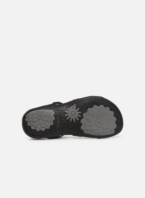 Sandales et nu-pieds Vionic Rest Amber Noir vue haut