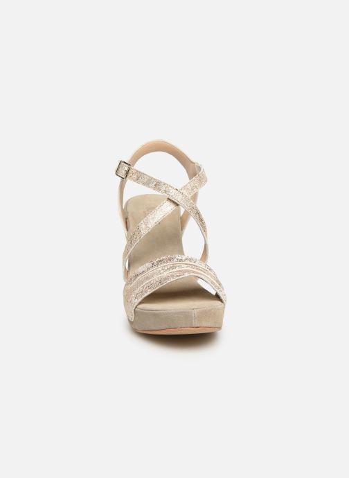 Sandalen Khrio 11031 beige schuhe getragen