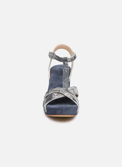 Sandalen Khrio 11032 blau schuhe getragen