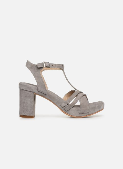 Sandales et nu-pieds Khrio 11032 Gris vue derrière