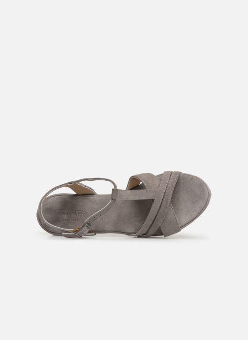 Sandales et nu-pieds Khrio 11032 Gris vue gauche