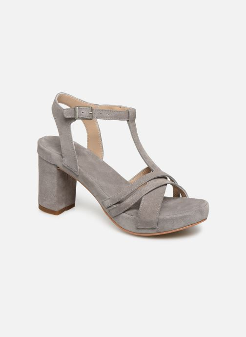 Sandales et nu-pieds Khrio 11032 Gris vue détail/paire