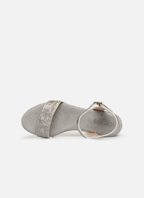 Sandali e scarpe aperte Khrio 11033 Grigio immagine sinistra