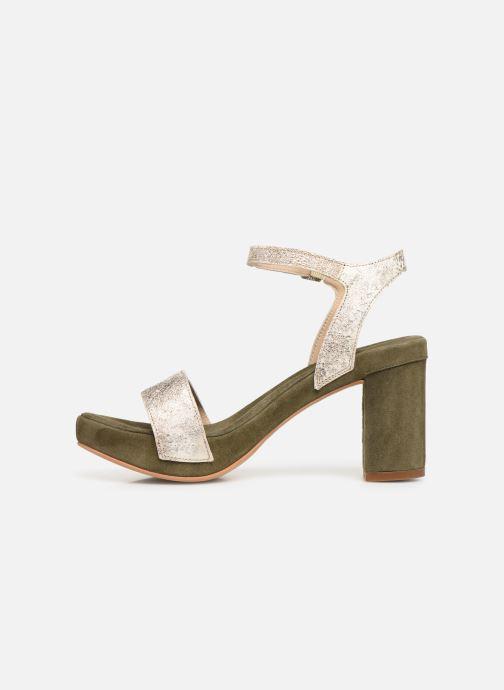 Sandales et nu-pieds Khrio 11033 Vert vue face