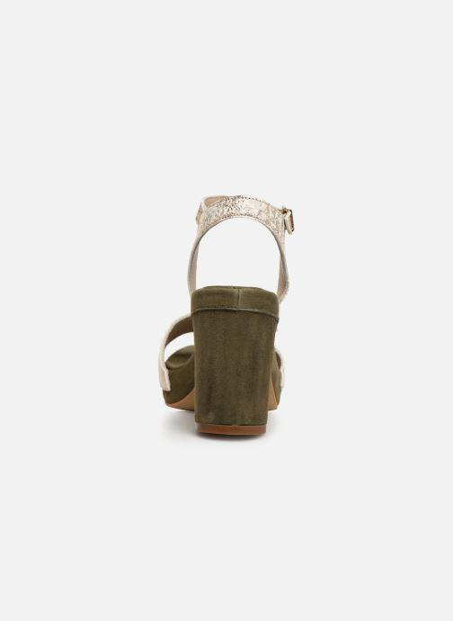 Sandales et nu-pieds Khrio 11033 Vert vue droite