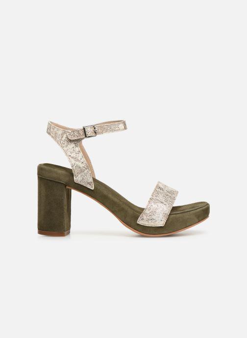 Sandales et nu-pieds Khrio 11033 Vert vue derrière