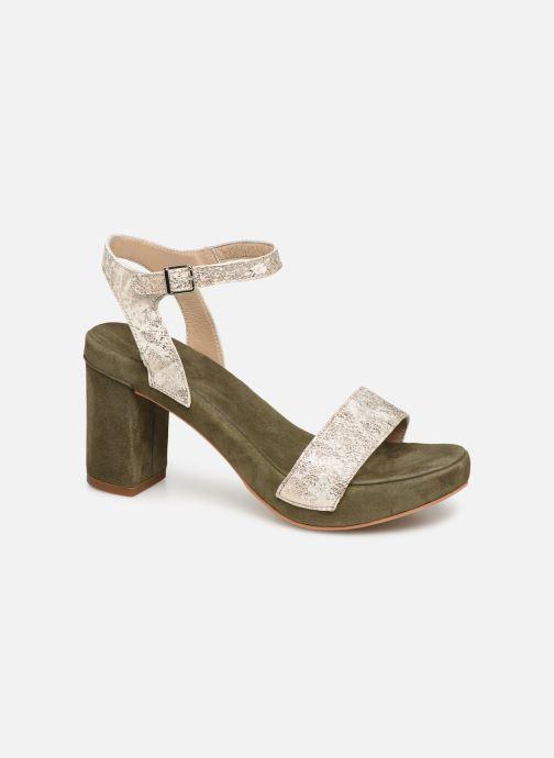 Sandales et nu-pieds Khrio 11033 Vert vue détail/paire