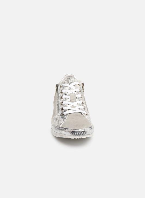 Baskets Khrio 11036 Gris vue portées chaussures