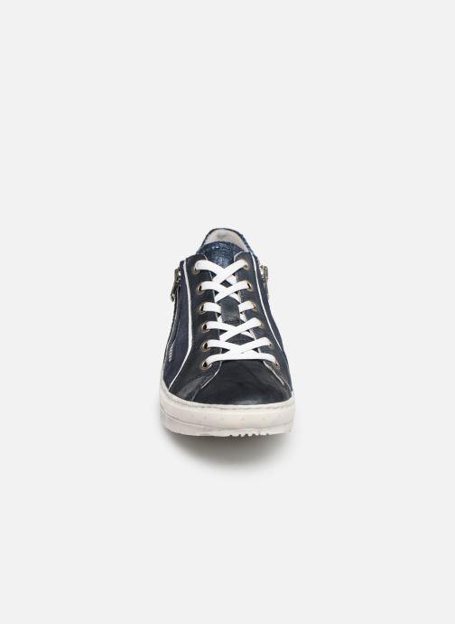 Sneaker Khrio 11037 blau schuhe getragen