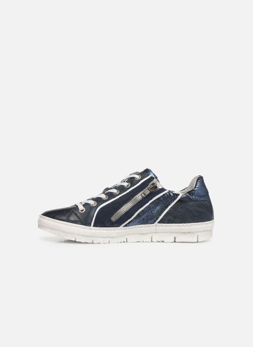 Sneaker Khrio 11037 blau ansicht von vorne