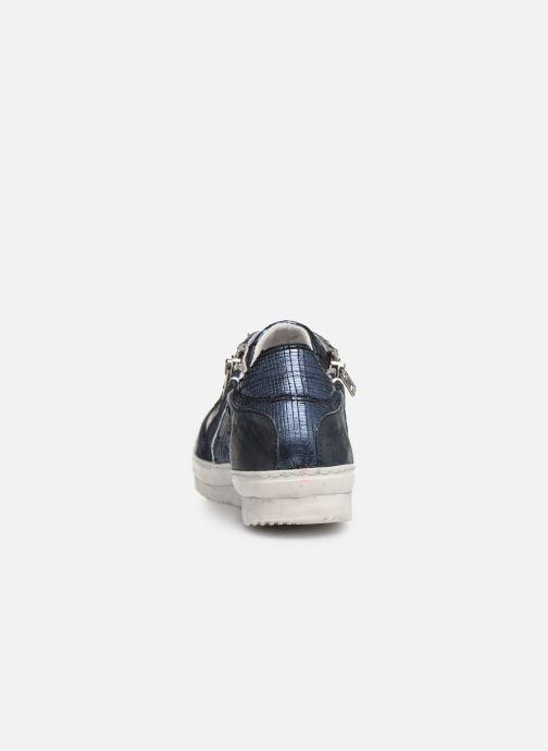 Sneaker Khrio 11037 blau ansicht von rechts
