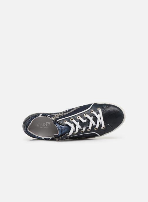 Sneaker Khrio 11037 blau ansicht von links