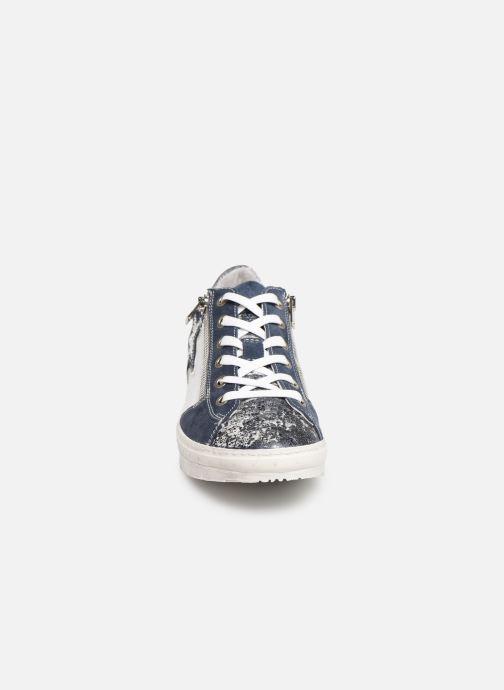 Sneaker Khrio 11038 blau schuhe getragen