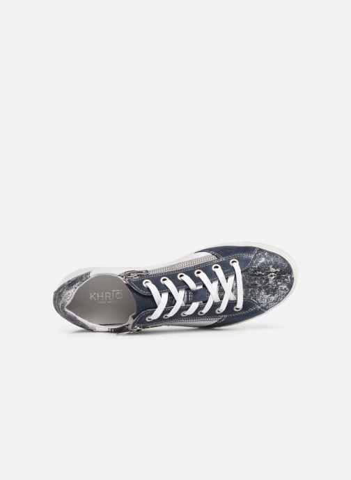 Sneaker Khrio 11038 blau ansicht von links