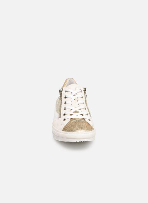 Baskets Khrio 11039 Or et bronze vue portées chaussures