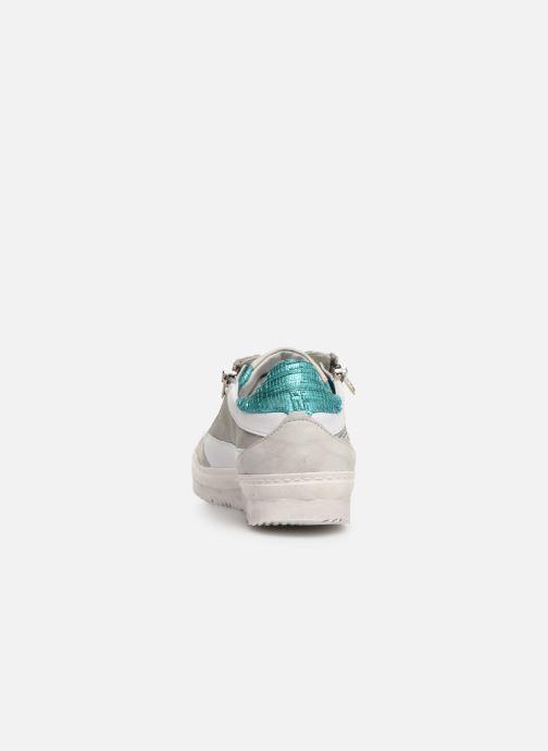 Baskets Khrio 11039 Bleu vue droite