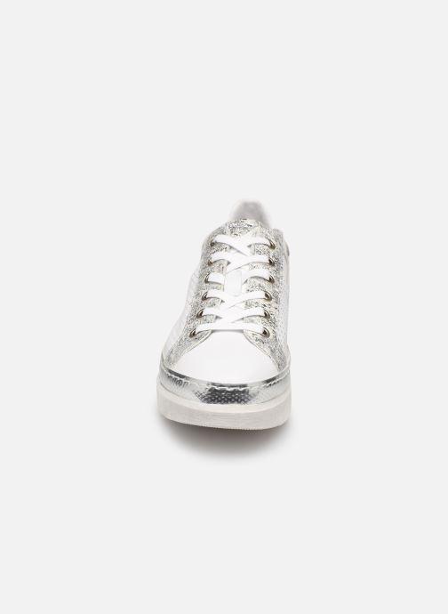 Baskets Khrio 11041 Argent vue portées chaussures