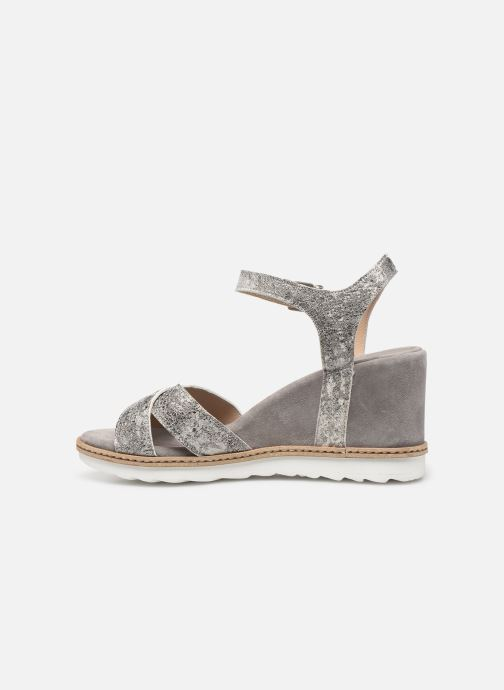 Sandali e scarpe aperte Khrio 11046 Grigio immagine frontale