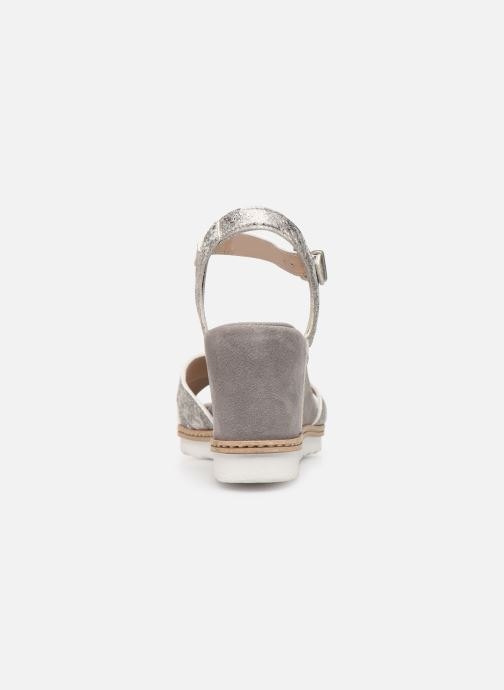 Sandali e scarpe aperte Khrio 11046 Grigio immagine destra