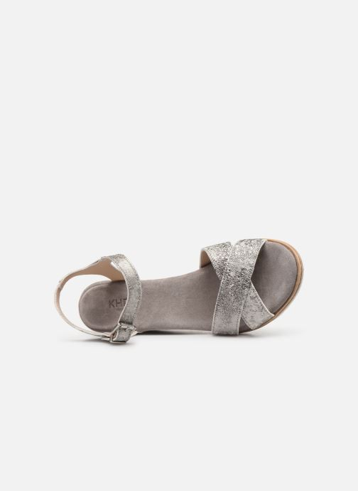 Sandali e scarpe aperte Khrio 11046 Grigio immagine sinistra