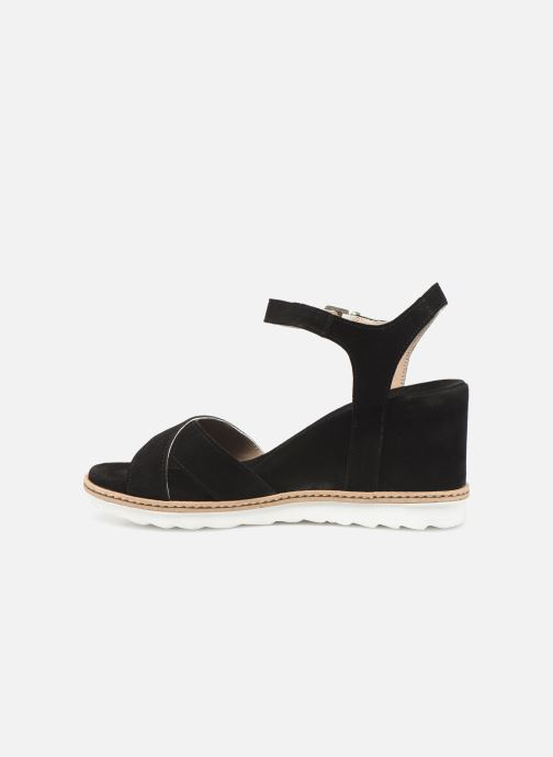 Sandales et nu-pieds Khrio 11046 Noir vue face